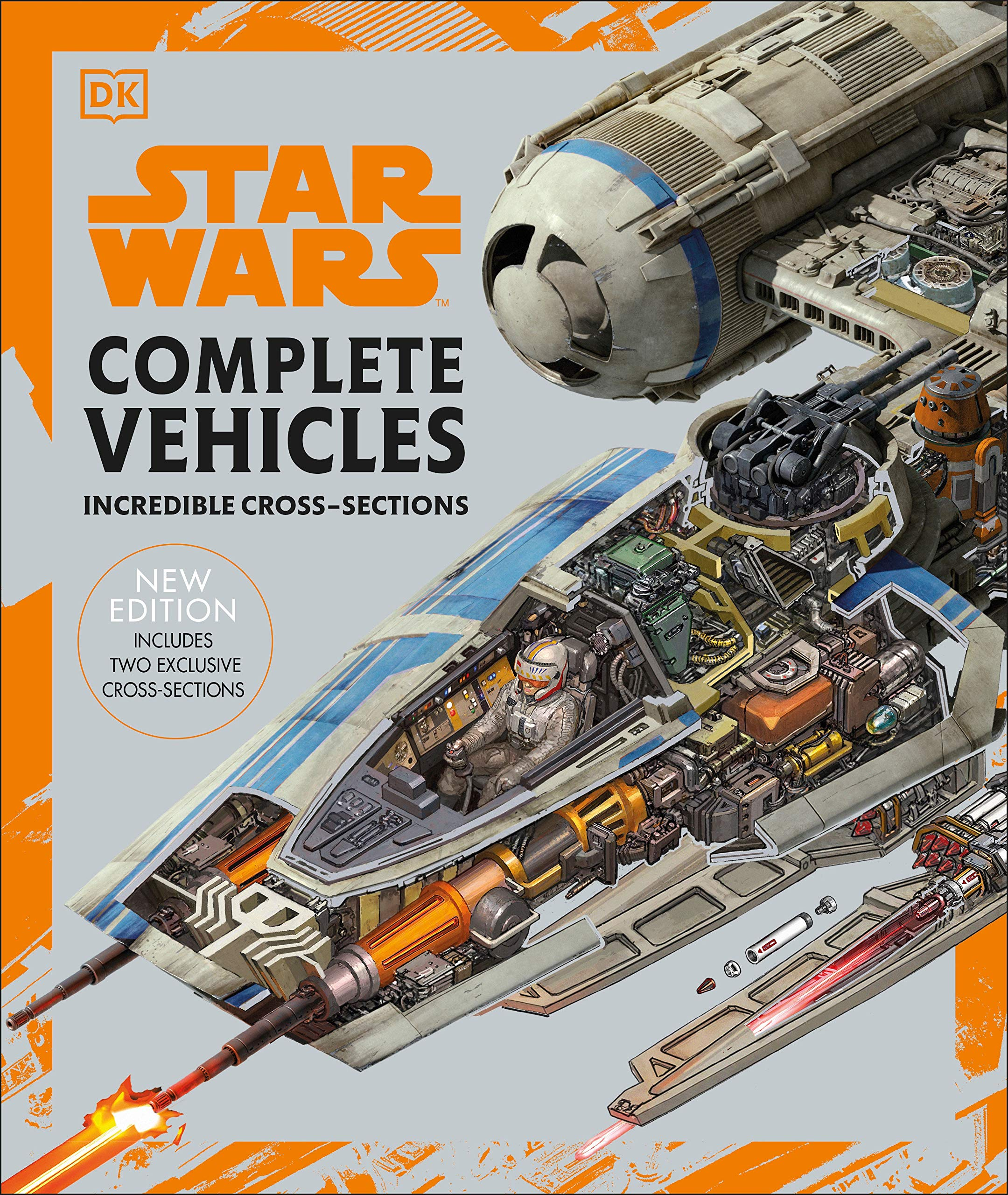 DK - Star Wars Complete Vehicles, New Edition (ENG)