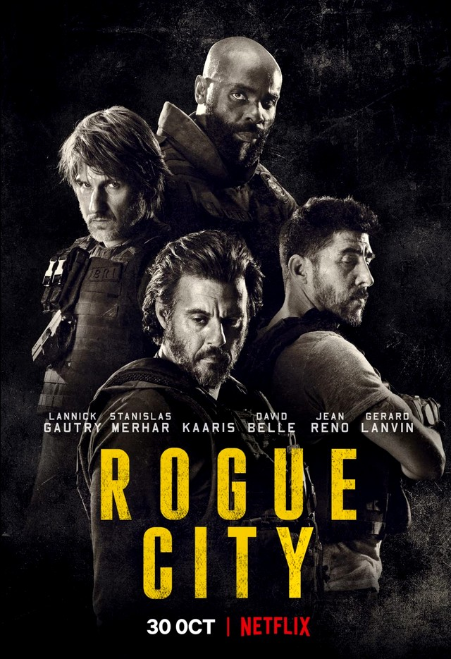 Drsny mesto | Rogue City 2020 FRENCH 1080p WEB