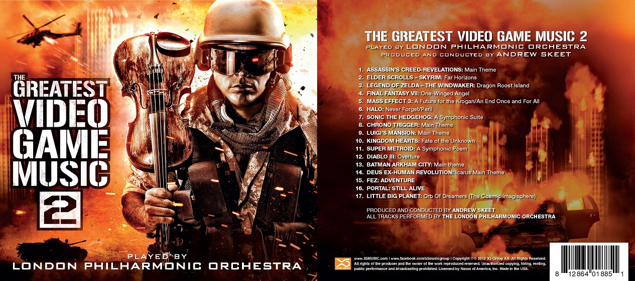 London Philharmonic Orchestra - The Greatest Video Game Music (2011-2012)[FLAC]