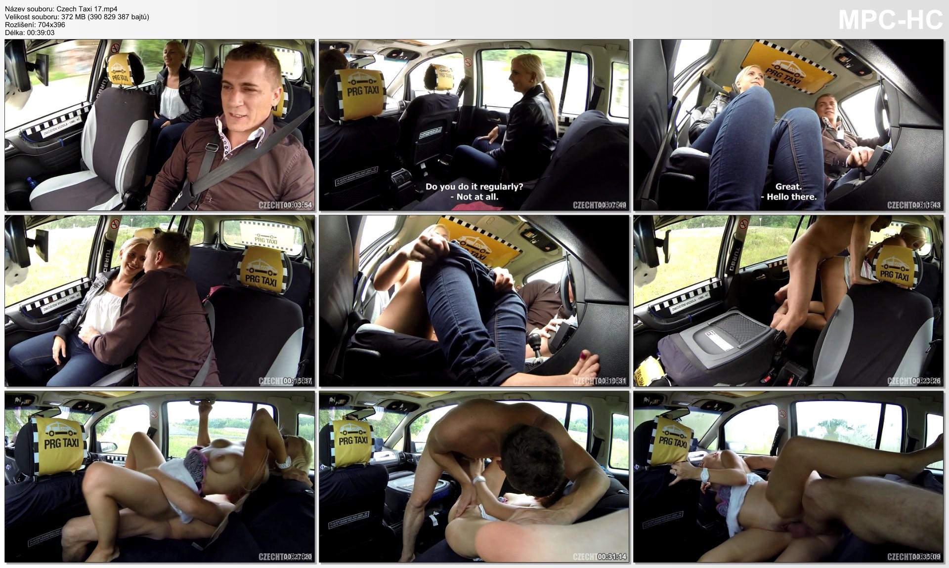 czech taxi 35